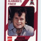 1989 Alabama Coke 580 Football #334 Eddie McCombs - Alabama Crimson Tide