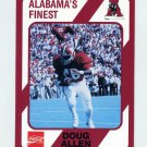 1989 Alabama Coke 580 Football #326 Doug Allen - Alabama Crimson Tide