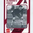 1989 Alabama Coke 580 Football #318 Robert Lee Hamner - Alabama Crimson Tide