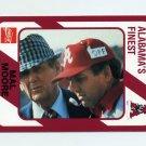 "1989 Alabama Coke 580 Football #312 Mal Moore / Paul ""Bear"" Bryant - Alabama Crimson Tide"