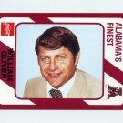 1989 Alabama Coke 580 Football #279 William Oliver - Alabama Crimson Tide