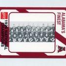 1989 Alabama Coke 580 Football #277 The 1926 National Champions