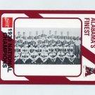 1989 Alabama Coke 580 Football #263 The 1930 National Champions