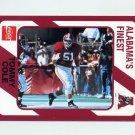 1989 Alabama Coke 580 Football #261 Tommy Cole - Alabama Crimson Tide
