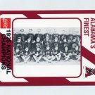1989 Alabama Coke 580 Football #253 The 1925 National Champions