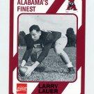 1989 Alabama Coke 580 Football #248 Larry Lauer - Alabama Crimson Tide