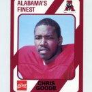 1989 Alabama Coke 580 Football #238 Chris Goode - Alabama Crimson Tide