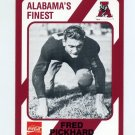 1989 Alabama Coke 580 Football #221 Fred Pickhard - Alabama Crimson Tide