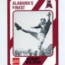 1989 Alabama Coke 580 Football #211 Bobby Wilson - Alabama Crimson Tide