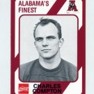1989 Alabama Coke 580 Football #208 Charles Compton - Alabama Crimson Tide