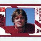 1989 Alabama Coke 580 Football #199 Paul Ott Carruth - Alabama Crimson Tide