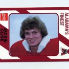 1989 Alabama Coke 580 Football #196 Jackie Cline - Alabama Crimson Tide