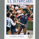 """1992 Impel U.S. Olympic Hopefuls #080 Leora """"Sam"""" Jones / Team Handball"""