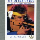 1992 Impel U.S. Olympic Hopefuls #064 Deena Wigger / Shooting