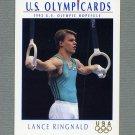 1992 Impel U.S. Olympic Hopefuls #048 Lance Ringnald / Gymnastics