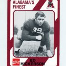 1989 Alabama Coke 580 Football #155 Ed Hickerson - Alabama Crimson Tide