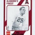 1989 Alabama Coke 580 Football #154 Vic Bradford - Alabama Crimson Tide