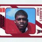 1989 Alabama Coke 580 Football #147 Freddie Robinson - Alabama Crimson Tide