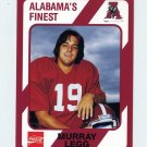1989 Alabama Coke 580 Football #136 Murray Legg - Alabama Crimson Tide
