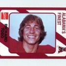 1989 Alabama Coke 580 Football #131 Richard Todd - Alabama Crimson Tide