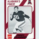 1989 Alabama Coke 580 Football #112 Jimmy Grammer - Alabama Crimson Tide