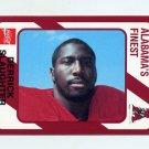 1989 Alabama Coke 580 Football #108 Derrick Slaughter - Alabama Crimson Tide