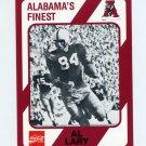 1989 Alabama Coke 580 Football #098 Al Lary - Alabama Crimson Tide