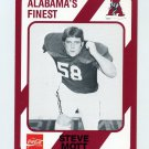 1989 Alabama Coke 580 Football #080 Steve Mott - Alabama Crimson Tide