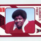 1989 Alabama Coke 580 Football #078 Byron Braggs - Alabama Crimson Tide