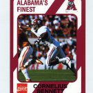1989 Alabama Coke 580 Football #068 Cornelius Bennett - Alabama Crimson Tide