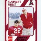 1989 Alabama Coke 580 Football #045 Johnny Musso / Bear Bryant - Alabama Crimson Tide