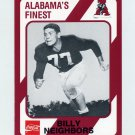 1989 Alabama Coke 580 Football #028 Billy Neighbors - Alabama Crimson Tide
