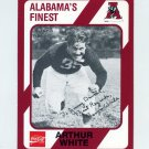 "1989 Alabama Coke 580 Football #015 Arthur ""Tarzan"" White - Alabama Crimson Tide"