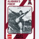 1989 Alabama Coke 580 Football #014 Riley Smith - Alabama Crimson Tide