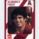 1989 Alabama Coke 580 Football #013 Bill Searcey - Alabama Crimson Tide