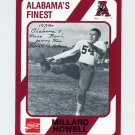 1989 Alabama Coke 580 Football #011 Dixie Howell - Alabama Crimson Tide