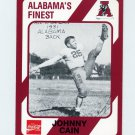 1989 Alabama Coke 580 Football #009 Johnny Cain - Alabama Crimson Tide