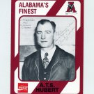 1989 Alabama Coke 580 Football #003 Pooley Hubert - Alabama Crimson Tide