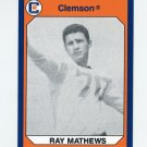 1990-91 Clemson Collegiate Collection #194 Ray Mathews - Clemson Tigers
