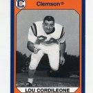 1990-91 Clemson Collegiate Collection #189 Lou Cordileone - Clemson Tigers