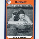 1990-91 Clemson Collegiate Collection #186 Pam Hayden - Clemson Tigers
