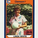 1990-91 Clemson Collegiate Collection #183 Linda White - Clemson Tigers