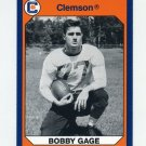 1990-91 Clemson Collegiate Collection #178 Bobby Gage - Clemson Tigers