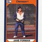 1990-91 Clemson Collegiate Collection #175 Jane Forman - Clemson Tigers