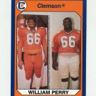 1990-91 Clemson Collegiate Collection #147 William Perry - Clemson Tigers