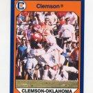 1990-91 Clemson Collegiate Collection #137 Clemson vs. Oklahoma - Clemson Tigers