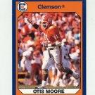 1990-91 Clemson Collegiate Collection #124 Otis Moore - Clemson Tigers