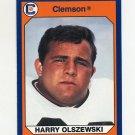 1990-91 Clemson Collegiate Collection #121 Harry Olszewski - Clemson Tigers