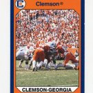 1990-91 Clemson Collegiate Collection #099 Clemson Wins Nebraska - Clemson Tigers