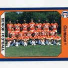 1990-91 Clemson Collegiate Collection #093 1989 Senior Football - Clemson Tigers